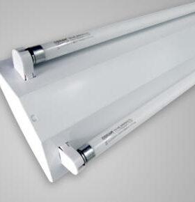 máng đèn led v-shape 2x1m2