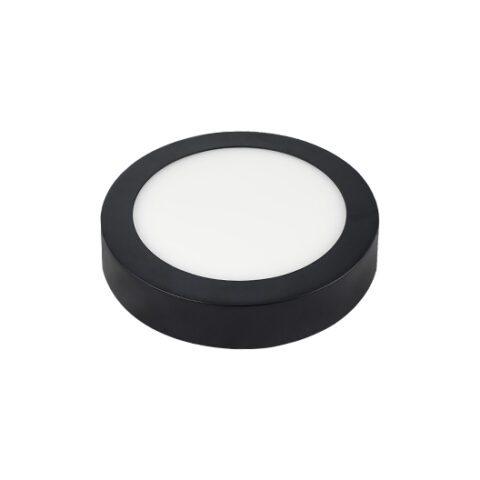 Đèn LED Ốp Trần 6W Tròn Viền Đen