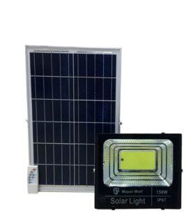 đèn pha led năng lượng mặt trời 150w