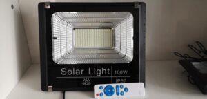 đèn pha led năng lượng mặt trời 30w - 60w-100w-150w