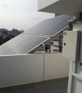 hệ thống điện mặt trời 3kw hòa lưới hộ gia đình
