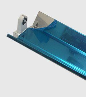máng đèn led xưởng may 1x1m2