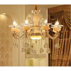 đèn chùm phòng khách 8 tay hiện đại giá rẻ
