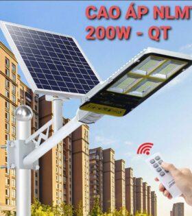 đèn đường led năng lượng mặt trời 200w