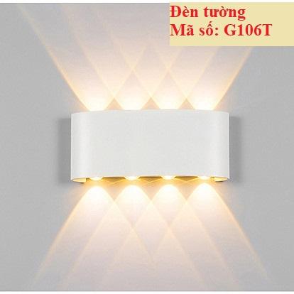 Đèn LED tường trang trí G106 bóng led 8w