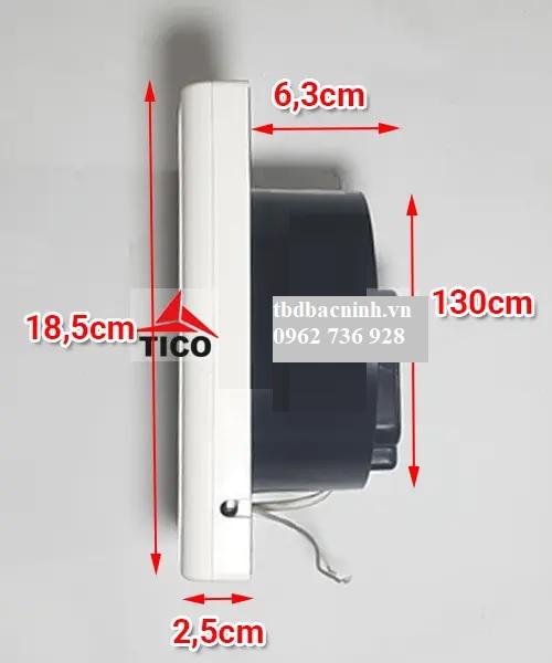 quạt thông gió nhà vệ sinh tico TC-12AV6