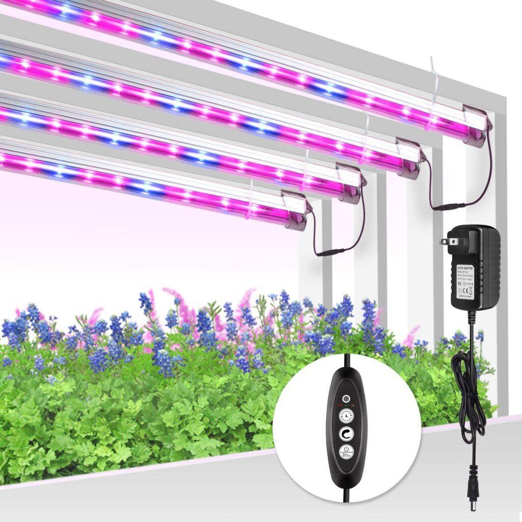 sử dụng đèn led trồng cây trong nhà